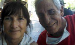 Ma. Eugenia de Feo presidente de Fundación HCV Sin - Fronteras y Daniel Campano